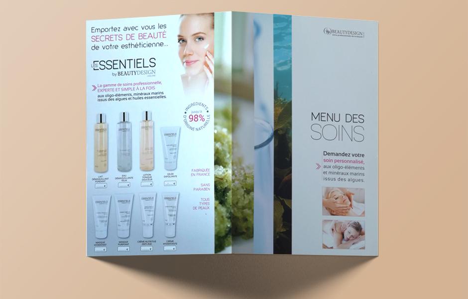 Protocoles de soins Beauty Design.