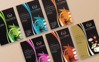 Brochure commerciale dans l'univers du bien-être