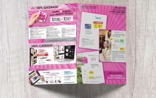 Brochure publicitaire esthétique