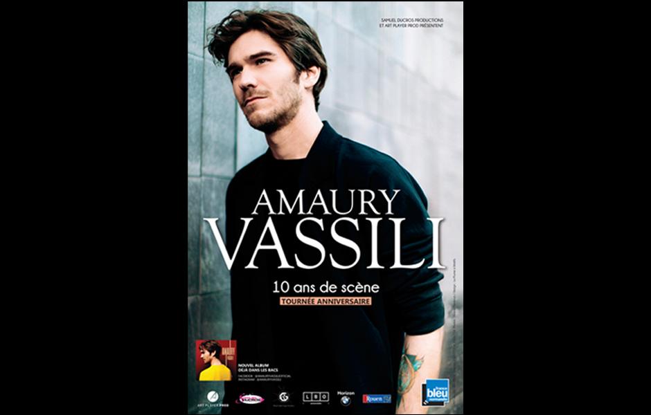 Affiche concert Amaury Vassili
