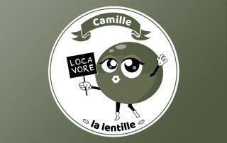 Illustration Camille la lentille