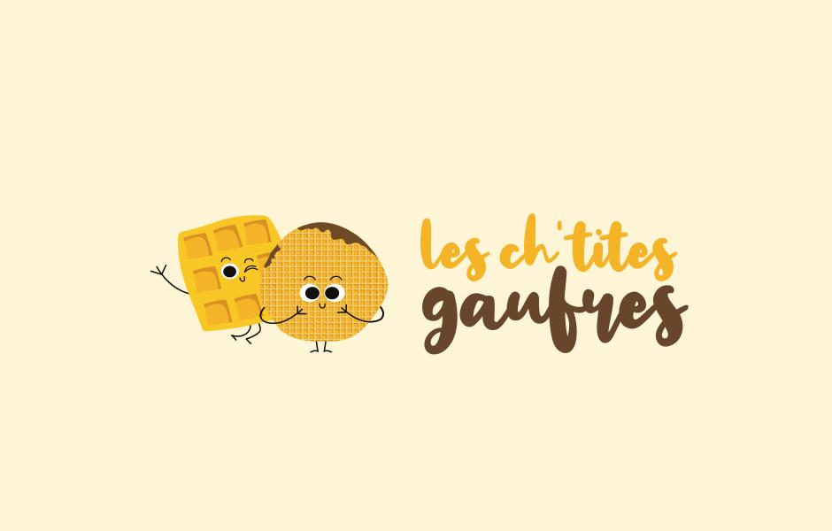 Logo Les ch'tites gaufres