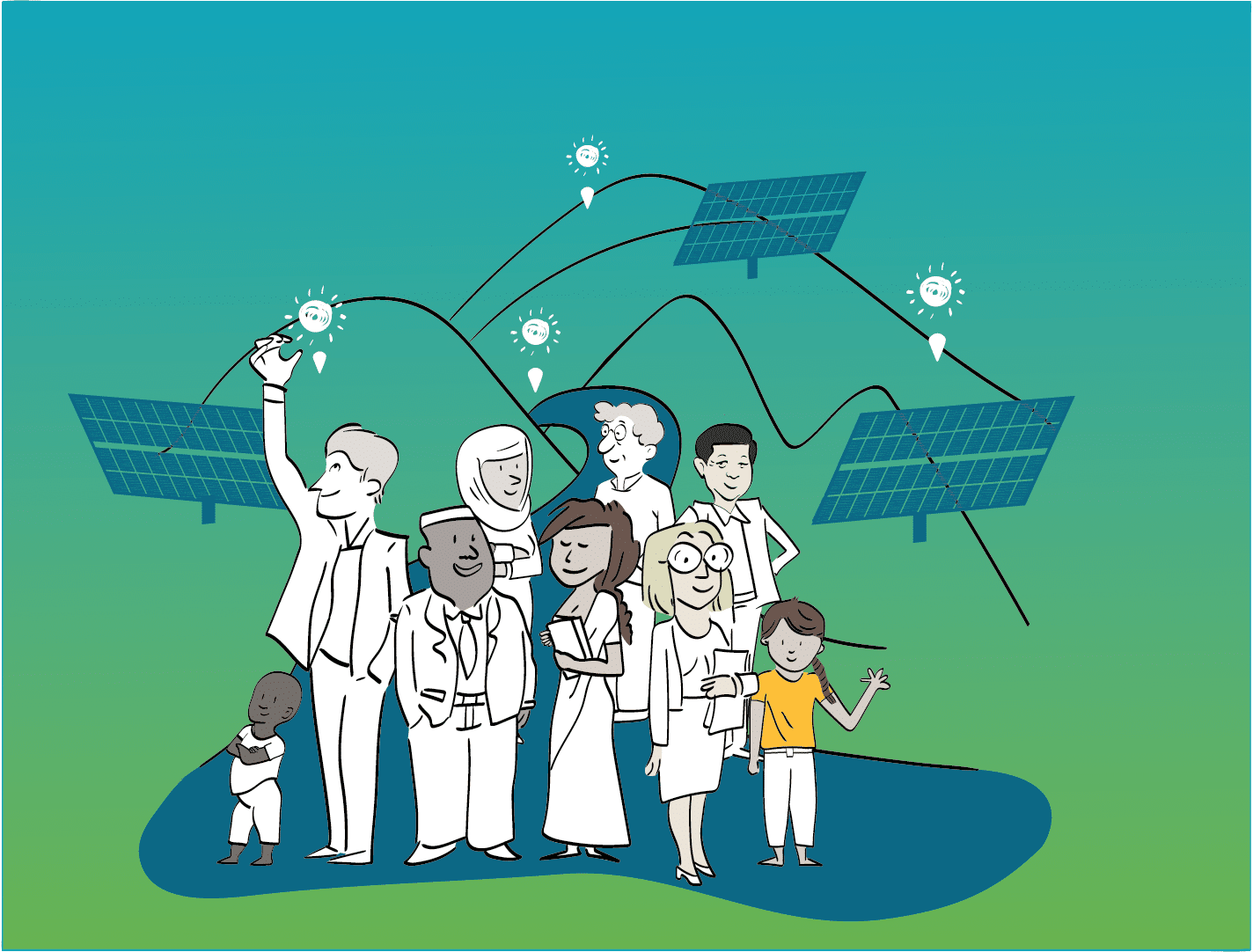 Illustration générale du site de Terrawatt initiative